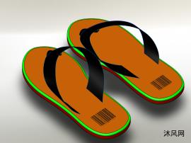 人字拖鞋设计