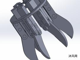 6爪机械手模型设计
