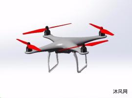 四翼无人机模型设计