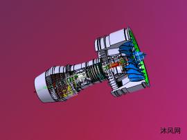 涡扇发动机设计图