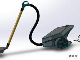 真空吸尘器模型设计图