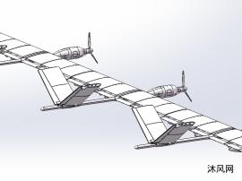 太阳能续航小型无人机