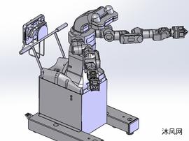 爱普生机器人三维图