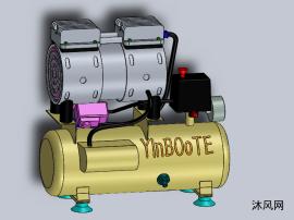 一款空气压缩机模型