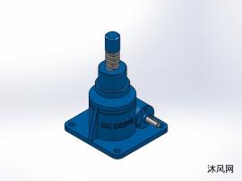 4款 SWL50蜗轮螺杆升降机