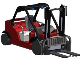 叉式升降机模型设计