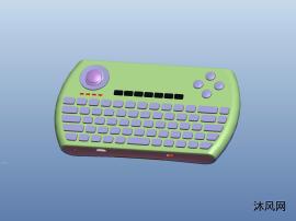 迷你无线键盘结构设计图