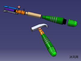 多用途组合工具模型