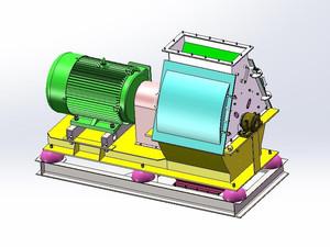 SFSP60×60锤片式粉碎机模型设计