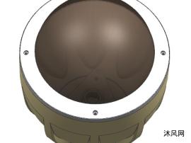 监控外壳模型