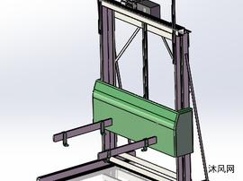 托盘包装机模型