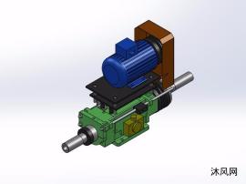 4种SDV-150-AR钻孔主轴头模型
