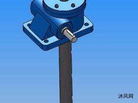 5款HK3T丝杆升降机模型