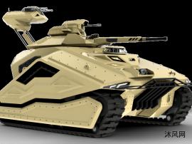 坦克装甲车模型设计