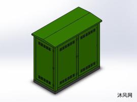 室内箱变柜模型