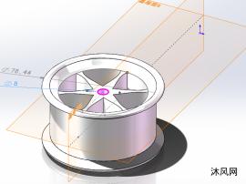 叶轮轮毂轮壳轮胎框模子