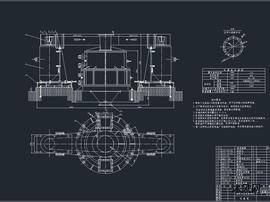 2PFX-1215型细碎冲击式破碎机图纸
