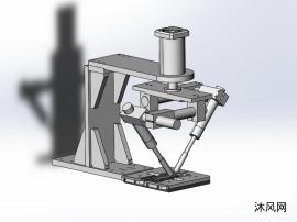 自动焊接模型设计