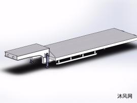 低高度平板拖车