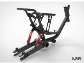 电动自行车车架