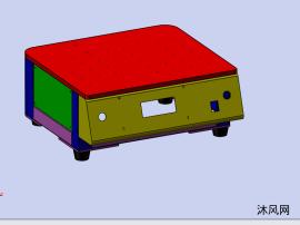 治具控制箱模型