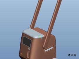 医疗消毒机三维模型图纸