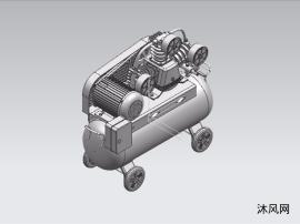 空气压缩机建模设计