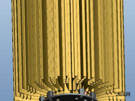 热管型工矿灯散热器
