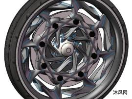 创意车轮模子