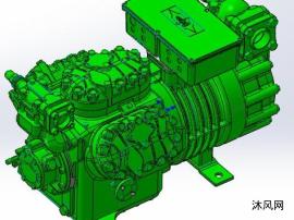 比泽尔活塞式空气压缩机