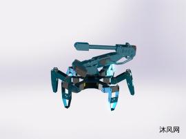 蜘蛛救援机器人仿生机器人