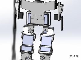 小型仿人双足竞走机器人