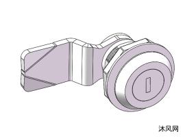 MS407-1 小圆锁模型