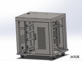 配电柜模型设计图