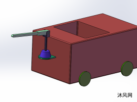 乒乓球小车模型