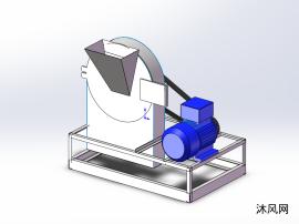 盐破碎机设计模型