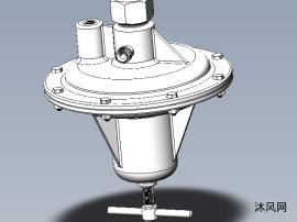 气压调节器模型设计