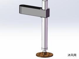 旋转连接的液压支腿