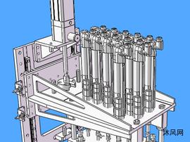 12工位锁螺丝机构
