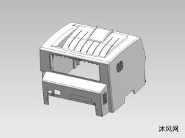 打印机外壳塑胶模具结构