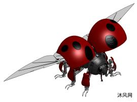 仿生机器人瓢虫