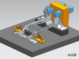 钣金件焊接工装图