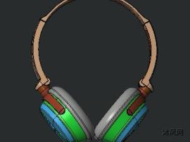 干电池式头戴耳机