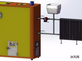 生物质颗粒燃料环保采暖锅炉