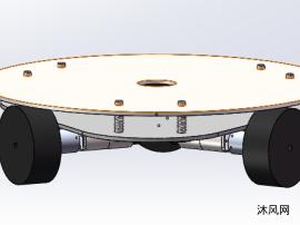 全向轮底盘模型