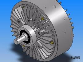 FZ型单出轴自然冷却磁粉制动器7种型号