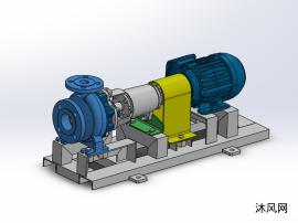 离心泵设计模型图