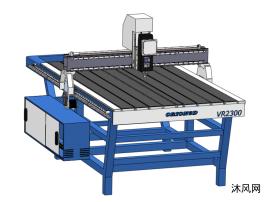 CNC数控机床模型设计