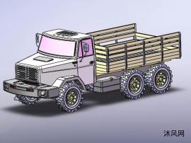 军用载货卡车