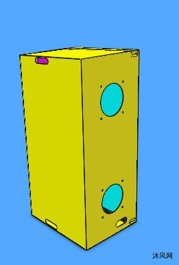电控柜箱体模型